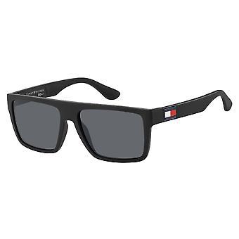 Tommy Hilfiger TH1605/S 003/IR Matte Schwarz/Grau Sonnenbrille