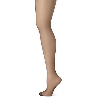 Hanes Silk Reflections Women's Panty Hose,Barely Black,A/B