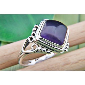Amethyst Ring 925 Silber Sterlingsilber Damenring lila (MRI 67-01)