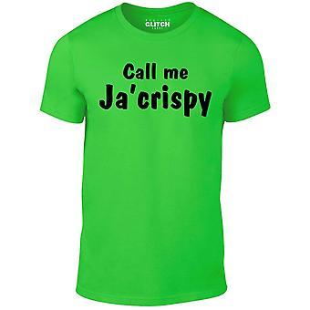 Men's call me ja crispy t-shirt