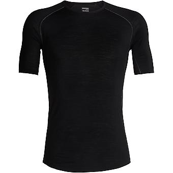 Icebreaker 150 Zone Short Sleeve Crew - Black