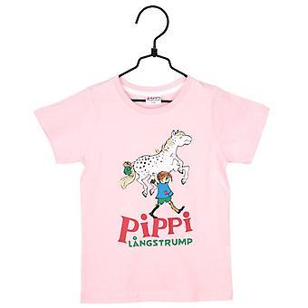 T-shirt Pippi Longstocking Rose