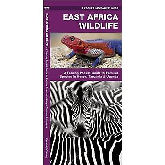 East Africa Wildlife - A Folding Pocket Guide to Familiar Species in K