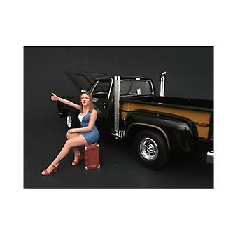 70\'S Style Figure Vi For 1:18 Scale Models Par American Diorama