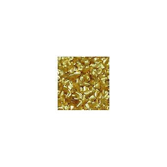 Rainbow Dust 100% Edible Shapes Sugar Polvilha 2g GOLD HEARTS