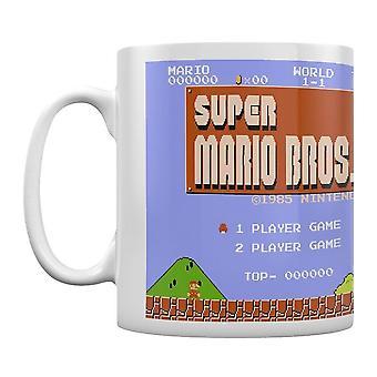 Super Mario Brothers niveau een koffiemok