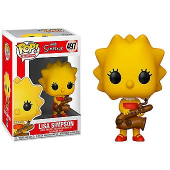 Simpsons Lisa (Saxophone) Pop! Vinyl