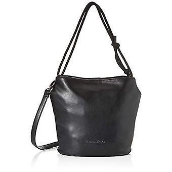 Fritzi aus Preussen Elma - Black Women's Shoulder Bags (Black) 12.5x25x27.5 cm (W x H L)