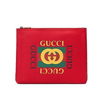 Gucci Web Logo Clutch Bag