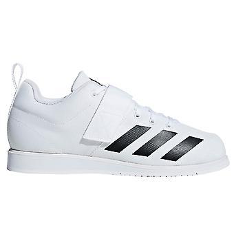 Adidas Powerlift 4 Mens adultes haltérophilie force athlétique chaussure blanc