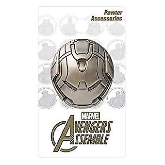 Large Pin - Marvel Avengers - Hulkbuster Pewter Lapel New Toys Licensed 68409