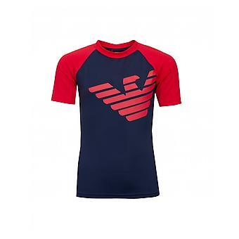 Armani Junior Logo Rash Guard T-shirt