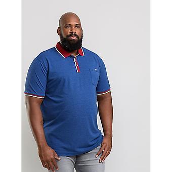 Duke Herren Nigel Kingsize Pique Polo Shirt