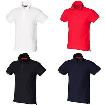 Camisa de Polo Fit Skinni Mens Club (com colar de estadia-acima)