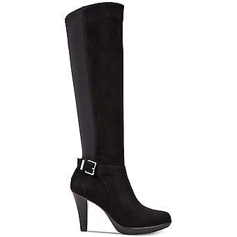 إصبع اللوز فينوس النسائي الفاني الركبة عالية أزياء أحذية