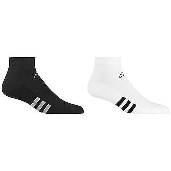 Adidas Mens tobillo calcetines (paquete de 3)