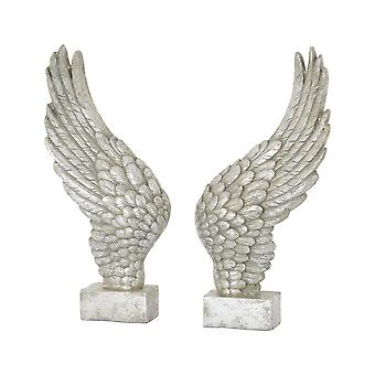 Hill Interiors Freestanding Ornamental Angel Wings