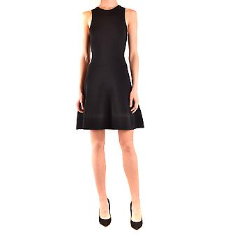 Boutique Moschino Ezbc1700020 Women's Black Viscose Dress