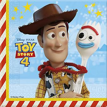 Toy Story 4 Guardanapos 20-pack