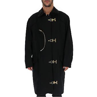 Buscemi Bmw19102089 Men's Black Nylon Coat