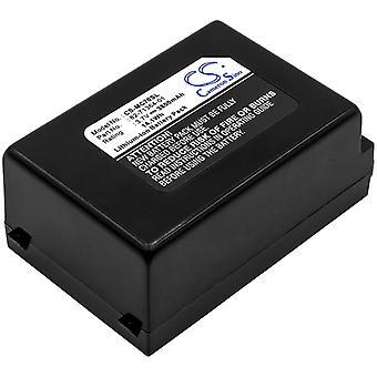 Batería para Símbolo 82-71363-02 MC70 MC7004 MC7090 MC7095 MC75 MC7506 MC7598
