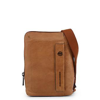 Piquadro Original Men All Year Crossbody Bag - Brown Color 34063