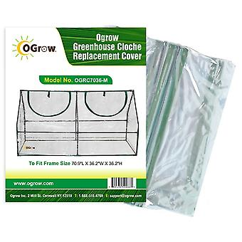 Cloche Greenhouse Replacement PVC Plastic Protection Cover for Garden Grow House