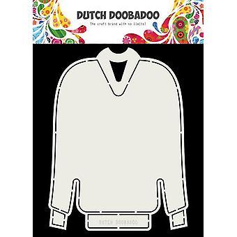 Niederländische Doobadoo Karte Kunst Weihnachtspullover A5 470.713.736