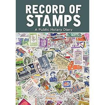 Record of Stamps  A Public Notary Diary by Flash Planners and Notebooks