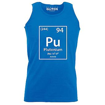 Reality glitch plutonium element periodic table mens vest