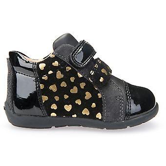 Geox meisjes Kaytan B6451D enkel laarzen zwart