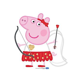 Peppa Pig Cupid Bow and Arrow Cardboard Cutout / Standee