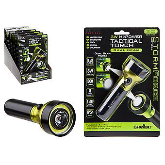 Summit Storm Force Dual Beam 3W LED + 3W Cob LED