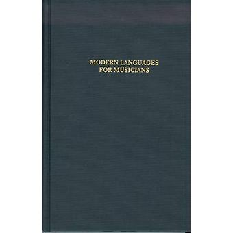Modern Languages for Musicians by Julie Yarbrough - 9780945193067 Book