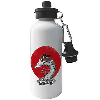 Spirited Away Red Sun Spirit Aluminium Sport Wasserflasche