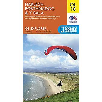 Harlech - Porthmadog & Bala / Y Bala - 9780319263587 Bok