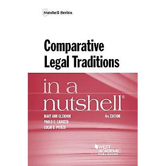 Comparative Legal Traditions in a Nutshell by Mary Ann Glendon - Paol