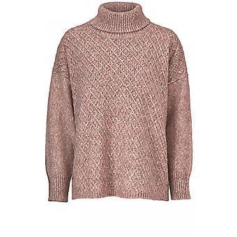 Masai Kleidung Foni Rose Diamant stricken Pullover