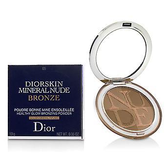 Diorskin minerální nahý nahý zdravý lesk bronzování prášek # 05 teplé sluneční světlo 228137 10g/0.35oz