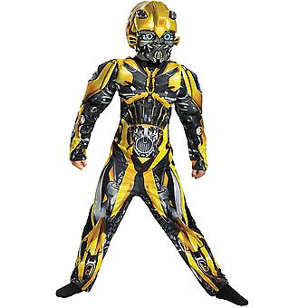 Bumblebee Muscle Child Costume Transformers