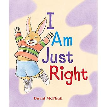 I Am Just Right by David McPhail - 9780823441068 Book