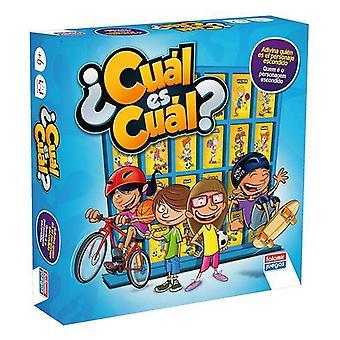 Board game ¿cuál Es Cuál? Falomir