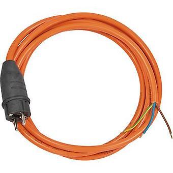 Brennenstuhl 1160470 Huidige Kabel Oranje 3.00 m