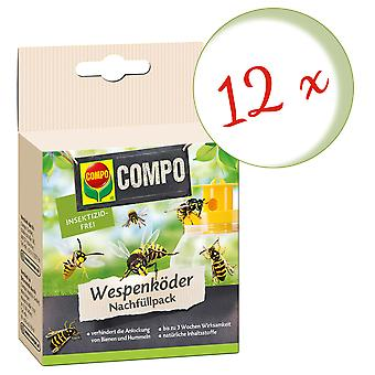 Sparset: 12 x COMPO Wasp Feller Agn Refill Pack, 3 Stk.