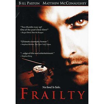 Frailty [DVD] USA import