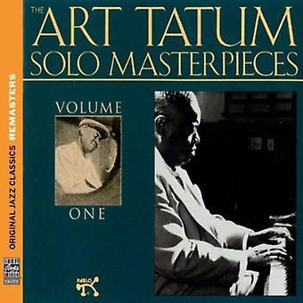 Art Tatum - Vol. 1-Art Tatum Solo mästerverk [CD] USA import