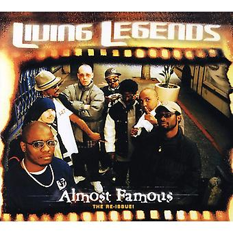 Living Legends - Almost Famous [CD] USA import