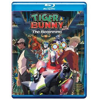 Tiger & Bunny Movie-Beginning [BLU-RAY] USA import