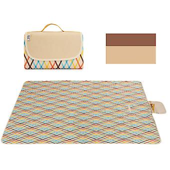 Homemiyn Outdoor Moisture-proof Picnic Mat Waterproof Picnic Blanket