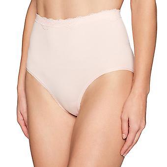 Arabella Frauen's Nahtlose Hi-Waist volle Abdeckung kurze Höschen, 3 Pack, Ash Gre...